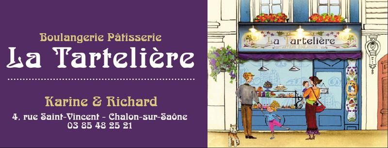 Boulangerie Patisserie La Tartelière Chalon sur Saône