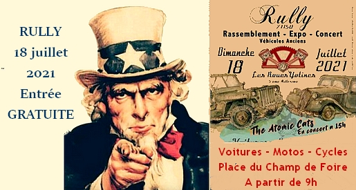 Expo véhicules anciens Rully